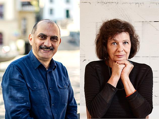 Shukri Al Rayyan und Zsuzsanna Gahse