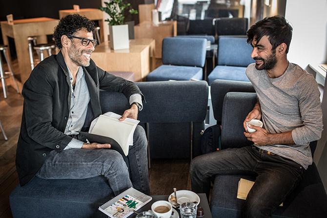 Weiter Schreiben Schweiz mit Jafar Sael und Usama Al Shahmani   Theaterwerkstatt Frauenfeld